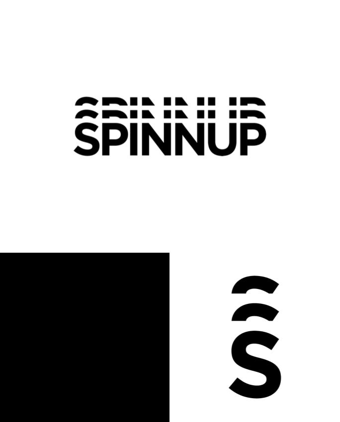 Logo_whiteshorthand_spinnup