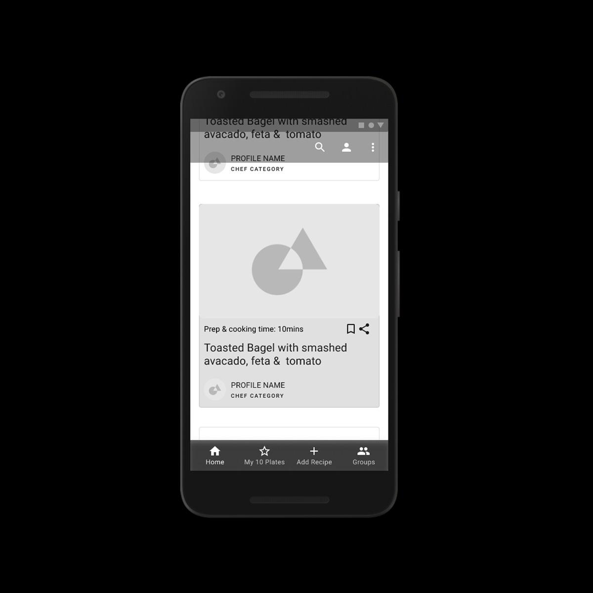 Recipe App Concept (Protected)